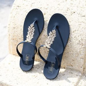 Riviera Black Jelly Sandals